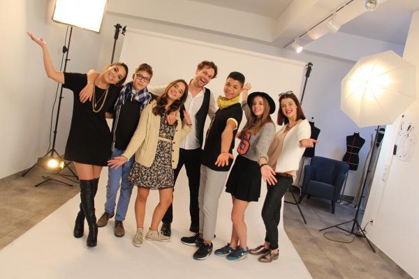 Bild 1 von 1: v.l.: Esen, Jakob, Luca, Emanuel-Hendrik, Jules, Thora und Celina