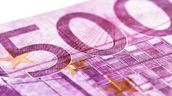 Bild 1 von 6: Die Europ�ische Zentralbank erw�gt, den 500-Euro-Schein abzuschaffen.