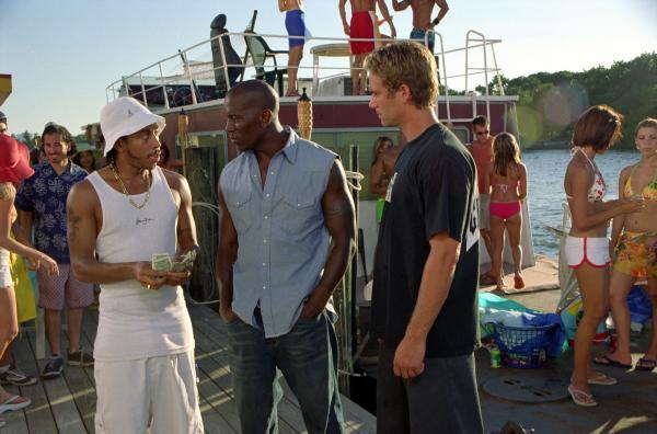 Bild 1 von 9: Tej (Ludacris, l.), Roman Pearce (Tyrese Gibson, M.) und Brian O'Conner (Paul Walker, r.) haben Benzin im Blut.