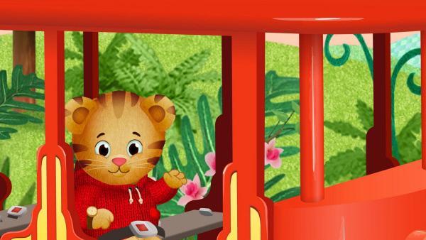 Bild 1 von 4: Der kleine Tiger Daniel probiert gerne neue Dinge aus. Gemeinsam mit seinen Freunden erlebt er jede Menge Abenteuer.