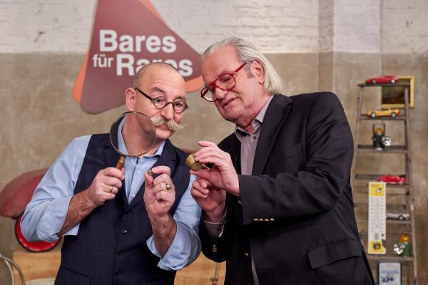 Bild 1 von 4: Moderator Horst Lichter und Experte Albert Maier.