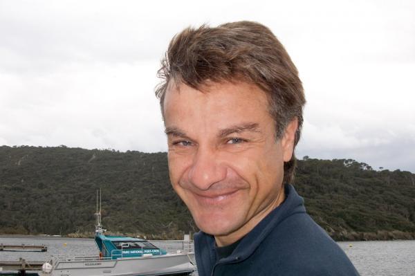 Bild 1 von 6: Jean-Michel Cottalorda ist Meeresbiologe an der Universität Nizza. Im Nationalpark Port-Cros begleitet er seit 15 Jahren die Mission Caulerpa.
