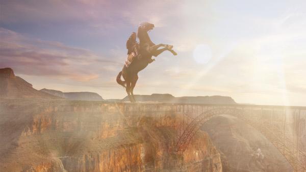 Bild 1 von 10: Pferde wurden erst ab 1492 in die neue Welt gebracht. Vorher gingen Indianer zu Fuß.