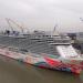 Maßarbeit auf der Ems - Ein Kreuzfahrtschiff verlässt die Werft