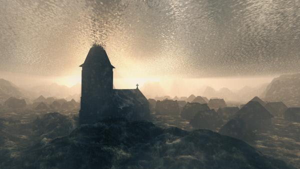 Bild 1 von 1: Der Sage nach soll Rungholt noch immer unversehrt auf dem Meeresgrund liegen.