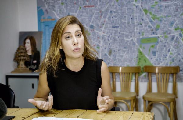 Bild 1 von 8: Paula Yacoubian, libanesische Fernsehmoderatorin und Politikerin