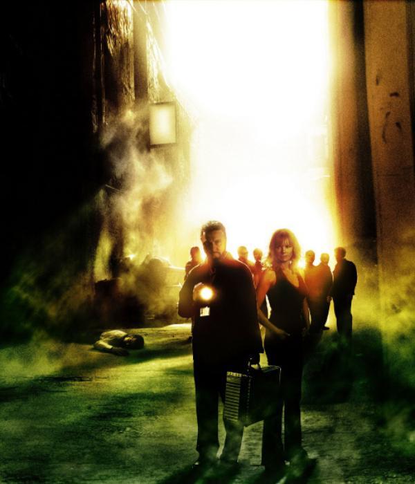 Bild 1 von 12: Gil Grissom (William Petersen) und Catherine Willows (Marg Helgenberger)