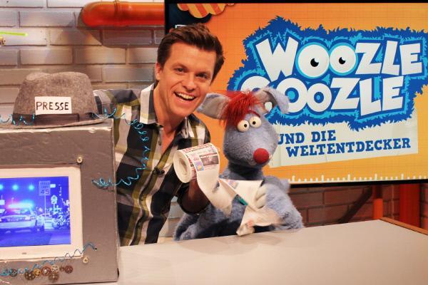 Bild 1 von 7: Woozle will mit Beni eine eigene Zeitung herausgeben.