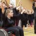Mit dem Rollstuhl auf die Bühne