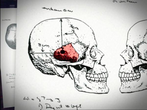 Bild 1 von 5: Erst Monate später wird Shannons Leiche in einem abgelegenen leerstehenden Bauernhof entdeckt - sie wurde durch einen Kopfschuss getötet.