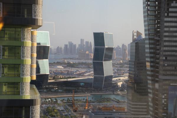 Bild 1 von 6: Der Financial District - die Skyline von Doha
