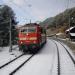 Mit dem Zug durch die Alpen