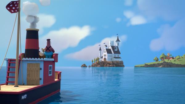 Bild 1 von 3: Was wird die Freunde im Schloss erwarten?