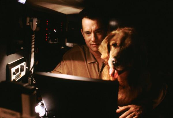 Bild 1 von 6: Neuerdings verbringt Joe (Tom Hanks) täglich viele Stunden vor seinem Computer, denn er will kein Mail von dem anonymen \
