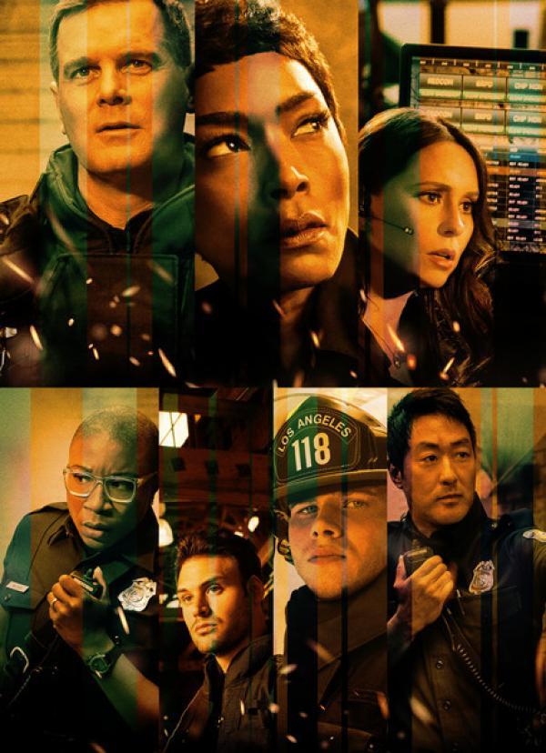 Bild 1 von 10: (3. Staffel) - 9-1-1 Notruf L.A. - Artwork