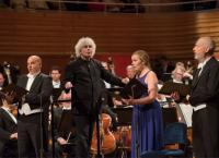 Simon Rattle dirigiert die Berliner Philharmoniker in Luzern 2017