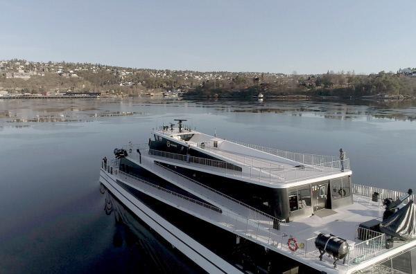 Bild 1 von 3: Oslo: im Hybrid-Katamaran \