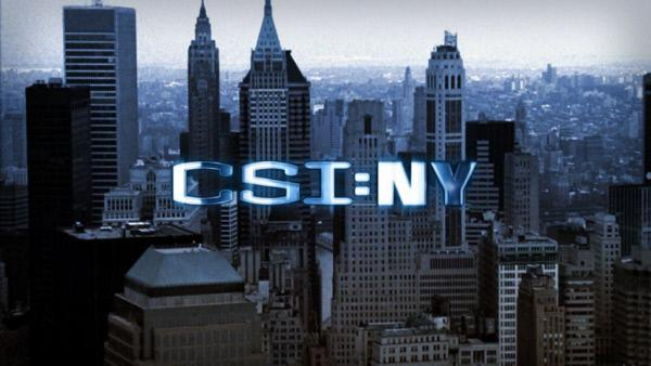 Bild 1 von 9: Das Logo zur Serie - CSI:NY