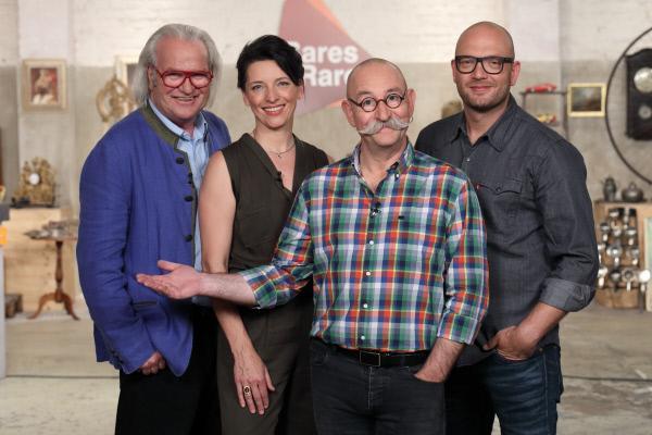 Bild 1 von 8: Die Experten: Albert Maier, Wendela Horz, Horst Lichter und Sven Deutschmanek.