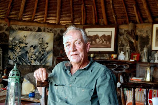 Bild 1 von 7: Dem Schutz der Wildtiere hat sich der gebürtige Kenianer Richard Bonham mit seiner Organisation Big Life verschrieben.
