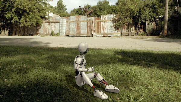 Bild 1 von 7: PAL landet in Shanias Vorgarten, um das Prisma zu suchen.