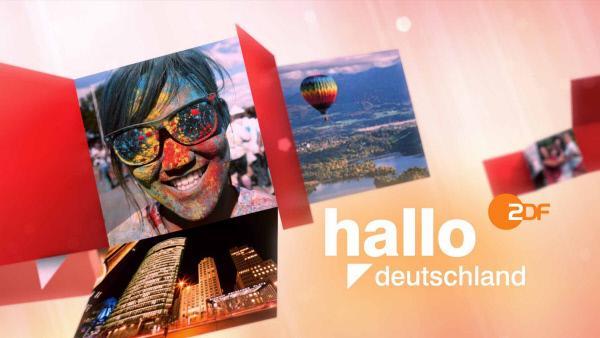 """Bild 1 von 2: Sendungslogo """"hallo deutschland""""."""