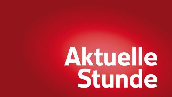 Bild 1 von 2: Aktuelle Stunde - Logo