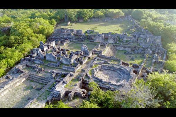Bild 1 von 3: Blick auf Kilwa Kisiwani, die beeindruckende Suaheli-Stadt in Tansania