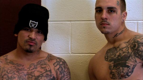 Bild 1 von 8: Tattoos und ihre weitreichende Bedeutung gehören für die Insassen des Ross Correctional Institutes zum Alltag dazu ...