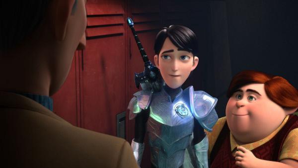 Bild 1 von 8: Jim (Mitte) sieht in seinem Lehrer, Herrn Strickler, eine Vertrauensperson. Doch welches Spiel spielt der Geschichtslehrer wirklich?