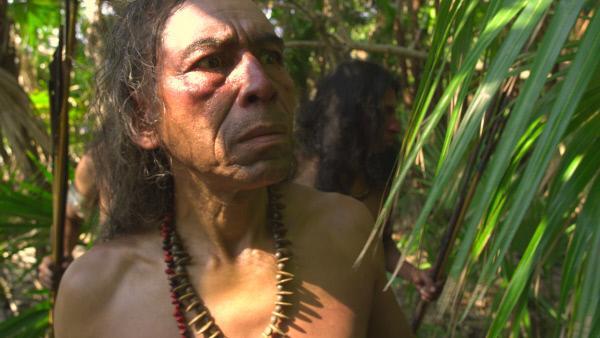 Bild 1 von 7: Skeptisch beobachten die Indios der Karibik die weißen Gäste.