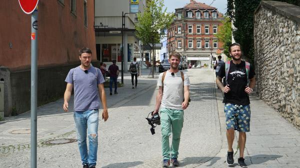 Bild 1 von 17: Von links: Basti, Andi und Uli.