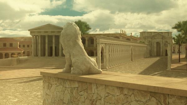 Bild 1 von 4: Weltkulturerbe Babylon - vor Jahrzehnten aufwändig rekonstruiert, heute zum Teil zerstört.