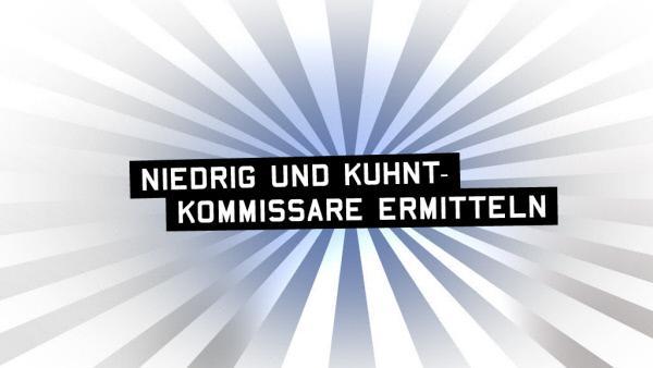 Bild 1 von 21: 'Niedrig und Kuhnt - Kommissare ermitteln' - Logo