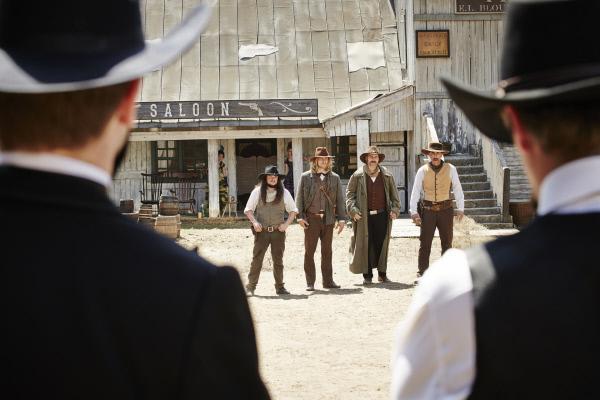 Bild 1 von 15: Gunfight am OK Choral: Die Wyatts gegen die Clantons.