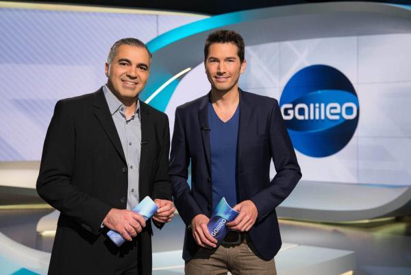"""Bild 1 von 21: """"Galileo"""" das Wissensmagazin wird von Aiman Abdallah (l.) und Stefan Gödde (r.) präsentiert."""