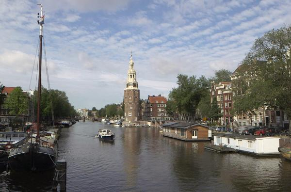 Bild 1 von 4: Das Amsterdamer Jordaan-Viertel mit seinen vielen Bars und Künstlertreffs gilt heute als besonders hip.