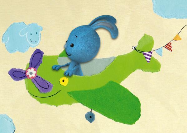 Bild 1 von 3: Kikaninchen geht auf Entdeckungsreise und erlebt viele aufregende Dinge.
