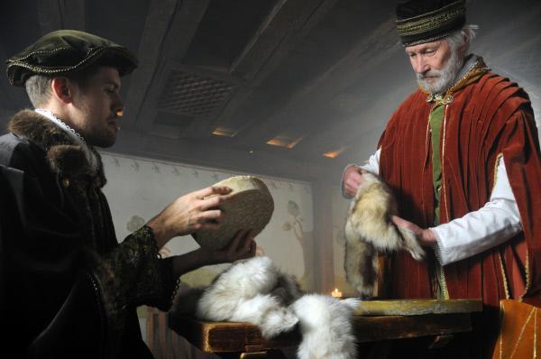 Bild 1 von 1: Händler in Reval mit Zobel und Wachs, den Schätzen Russlands.