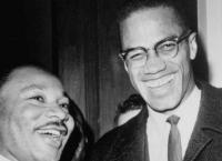 Martin Luther King und Malcolm X