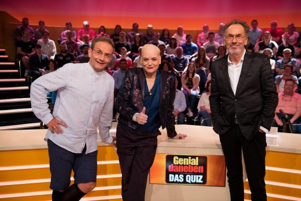 Bild 1 von 12: (v.l.n.r.) Wigald Boning; Hella von Sinnen; Hugo Egon Balder