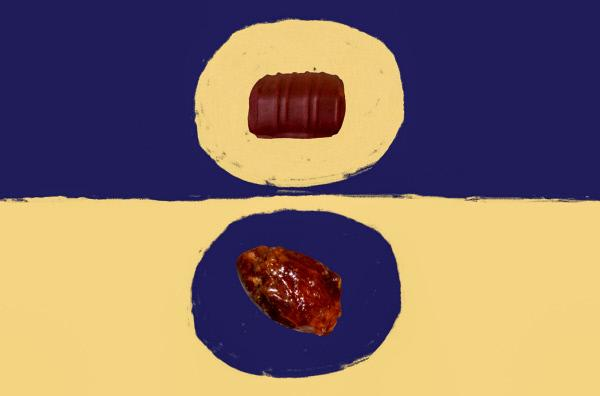 Bild 1 von 2: Das Wort Praline ist für einen Franzosen und einen Deutschen nicht dasselbe. Eine kurze Geschichte des Kochens von Nikola Obermann.