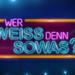 Bilder zur Sendung: Wer wei� denn sowas!