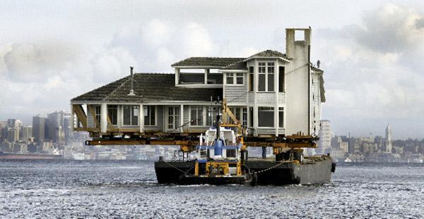 Bild 1 von 4: Mission Schwertransport - Zwei Traumhäuser auf Grundstückssuche