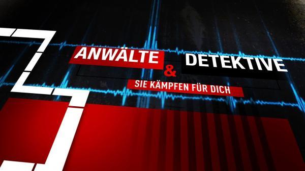 Bild 1 von 1: Anwälte & Detektive - Sie kämpfen für Dich