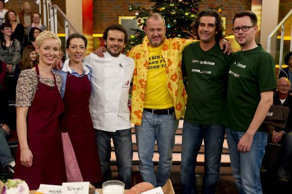 Bild 1 von 1: Von links: Christin Ballenberger, Katja Pathe, Steffen Henssler, Frank Rosin, Volker Dittmer, Henrik Himpe.