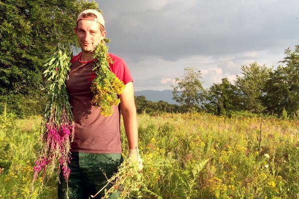 Bild 1 von 6: Gutes Klima und unberührte Natur: Das Geschäft mit Heilkräutern wird auf dem Balkan zunehmend lukrativ.