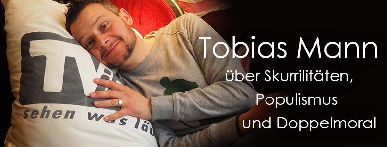 Interview mit Tobias Mann